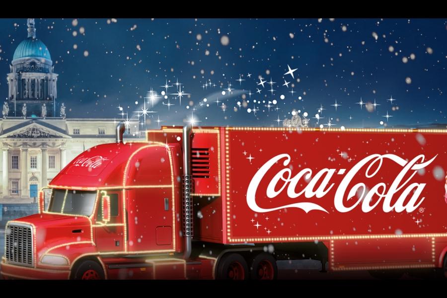 kultowe filmy reklamowe z ciezarowka coca cola